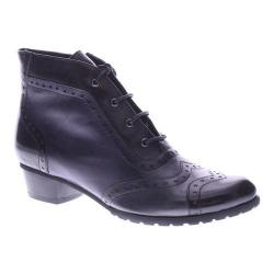 Women's Spring Step Heroic Boot Black Leather
