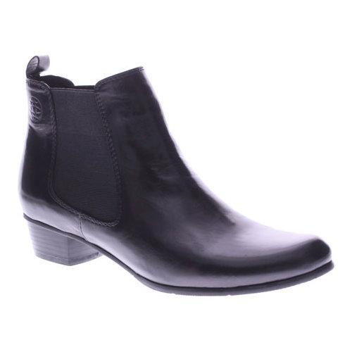 Women's Spring Step Lithium Chelsea Boot Black Leather