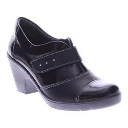 Women's Spring Step Intuitive Bootie Black Leather