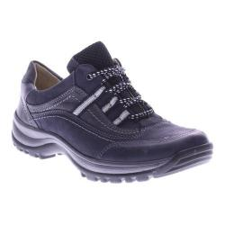 Women's Spring Step Nordeste Lace Up Navy Nubuck Leather