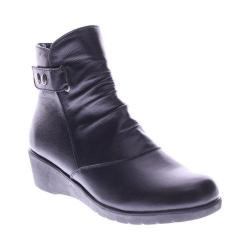 Women's Spring Step Smore Boot Black Leather