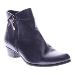 Women's Spring Step Stockholm Ankle Boot Navy Leather