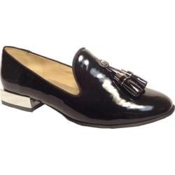 Women's Bellini Brittany Tassel Loafer Black Patent