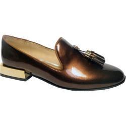 Women's Bellini Brittany Tassel Loafer Bronze Patent