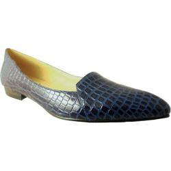 Women's Bellini Flora Flat Blue Croc
