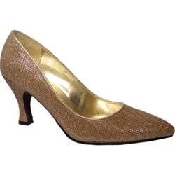 Women's Bellini Zoot Pump Gold Glitter