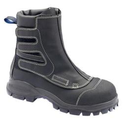 Men's Blundstone Smelter Boot Range Black Flame Retardant Leather