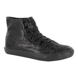 Girls' Gotta Flurt Disco II Hi G Sneaker Black/Black Sequin/Pu
