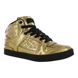 Girls' Gotta Flurt Hip Hop HD III G Sneaker Gold/Black Patent Pu