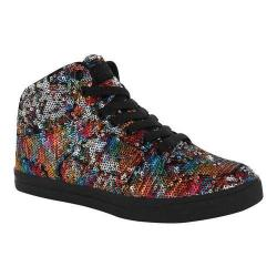 Girls' Gotta Flurt Hip Hop II G Sneaker Multi/Black Sequin/Pu