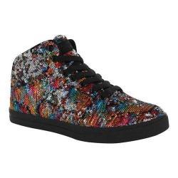 Women's Gotta Flurt Hip Hop II Sneaker Multi/Black Sequin/Pu