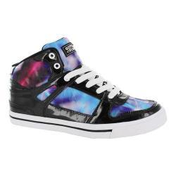Girls' Gotta Flurt Hip Hop V G Sneaker Blue/Black Patent Pu