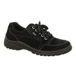 Women's ara Paterson 49335 Lace-Up Black GORE-TEX Suede