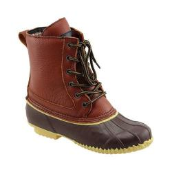 Women's Superior Boot Co. Traditional 6-Eye Duck Boot Brown