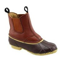 Men's Superior Boot Co. Twin Gore Duck Boot Brown