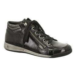 Women's ara Rylee 44410 Black Crinkle Patent/Metallic Accent|https://ak1.ostkcdn.com/images/products/93/632/P17676431.jpg?impolicy=medium