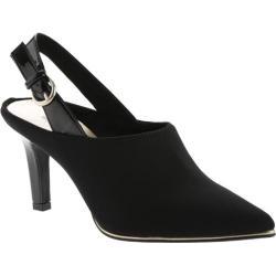 Women's Bandolino Ferissa Slingback Black/Black Fabric