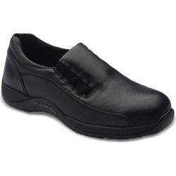 Women's Blundstone Work Range Slip On Black Leather