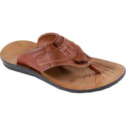 Men's Arider Cole-01 Thong Sandal Brown Leather