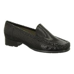 Women's Jenny by ara Adelaide 60107 Loafer Black Lizard Print
