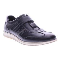 Men's Spring Step Draco Adjustable Strap Black Leather