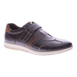Men's Spring Step Draco Adjustable Strap Dark Brown Leather
