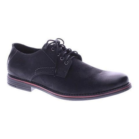Men's Spring Step Montenegro Oxford Black Nubuck Leather