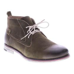 Men's Spring Step Pera Chukka Olive Nubuck Leather