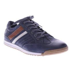 Men's Spring Step Phenomenal Lace Up Navy Nubuck Leather