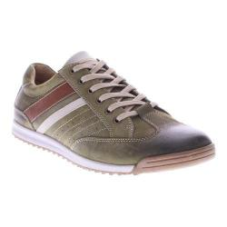Men's Spring Step Phenomenal Lace Up Olive Nubuck Leather