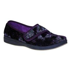 Women's Foamtreads Jewel Black/Purple Print