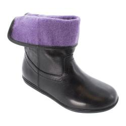 Girls' Bumbums & Baubles Stella Boot Black Leather