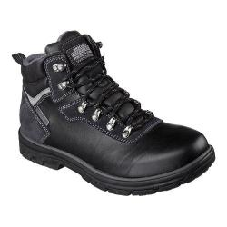 Skechers Men's Boots Relaxed Fit Segment Ander Black