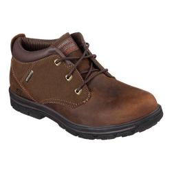 Skechers Men's Boots Relaxed Fit Segment Verzani Ankle Dark Brown