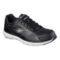 Men's Skechers Relaxed Fit Soleus Walking Shoe Black/Black