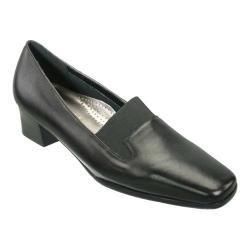 Women's David Tate Lido Black Calf