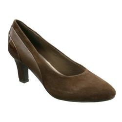 Women's David Tate Sexy Brown Kid/Suede/Patent