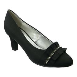 Women's David Tate Stardust Black Peau de Soie