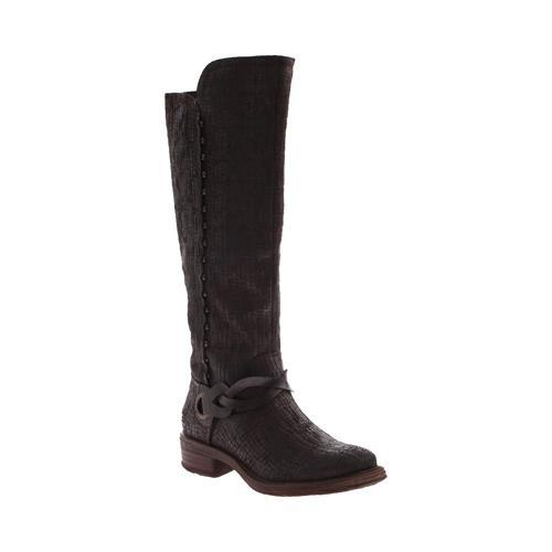 Women's OTBT Cache Knee High Boot Rich Brown Leather