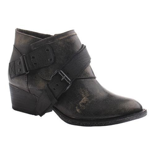 Women's OTBT Fall River Bootie Beige Black Leather
