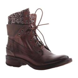 Women's OTBT Carlsbad Lace up Boot Brown Leather