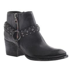 Women's OTBT Emery Ankle Boot Black Leather