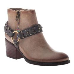 Women's OTBT Emery Ankle Boot Grey Powder Leather