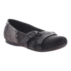 Women's OTBT Plymouth Ballet Flat New Pewter Leather
