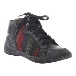 Women's OTBT Providence Sneaker Black Leather