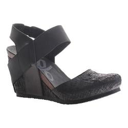 Women's OTBT Rexburg Wedge Black Leather