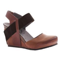 Women's OTBT Rexburg Wedge Havana Brown Leather