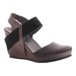 Women's OTBT Rexburg Wedge Mint Black Leather