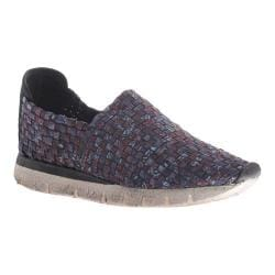 Women's OTBT Sellwood Woven Slip-on Electric Blue Fabric
