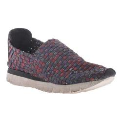 Women's OTBT Sellwood Woven Slip-on Red Fabric